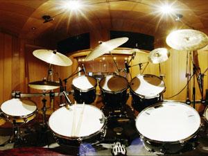 Drums opnemen bij Opnamestudio.com