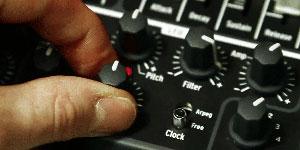 Mixen in professionele geluidsstudio